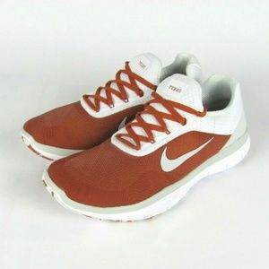 NEW NIKE Texas Longhorns Trainer V7 Shoes US 9